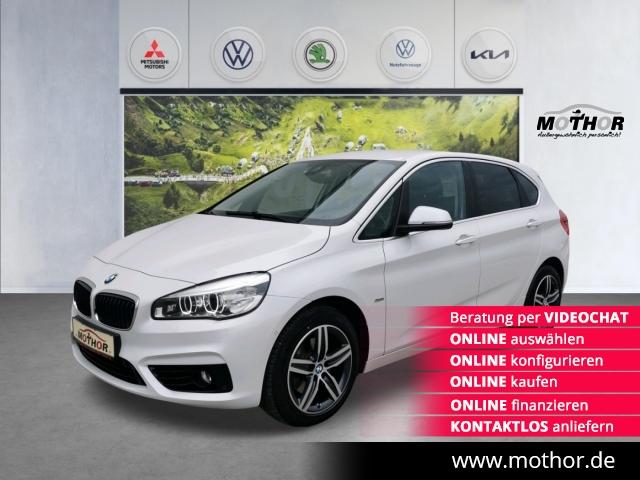 BMW 220i Active Tourer Sport Line LED NAVI AHK, Jahr 2016, Benzin