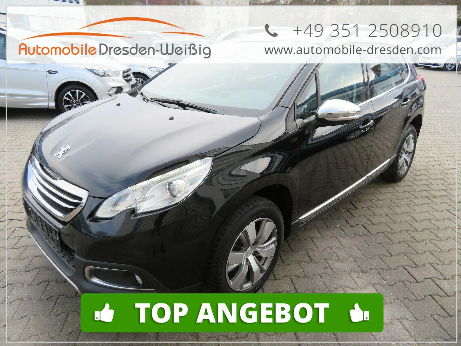 Peugeot 2008 1.6 HDI Allure*Navi*Leder*Sportsitze, Jahr 2015, Diesel