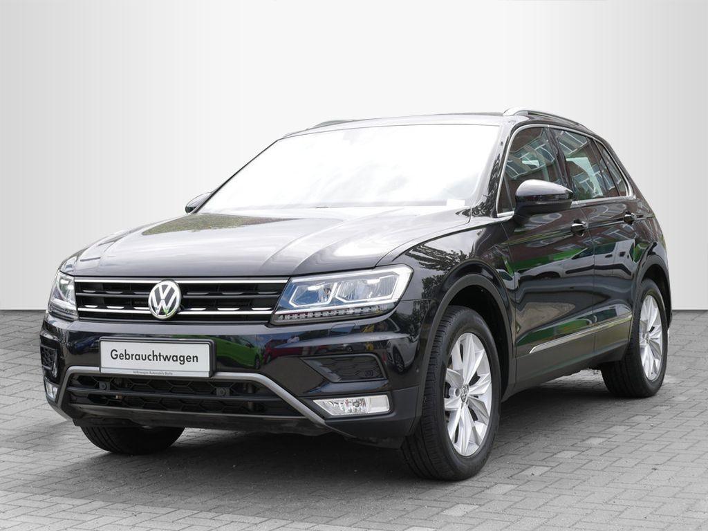 Volkswagen Tiguan 2.0TDI DSG Highline 4x4 STHZG AHK NAVI LED, Jahr 2017, Diesel