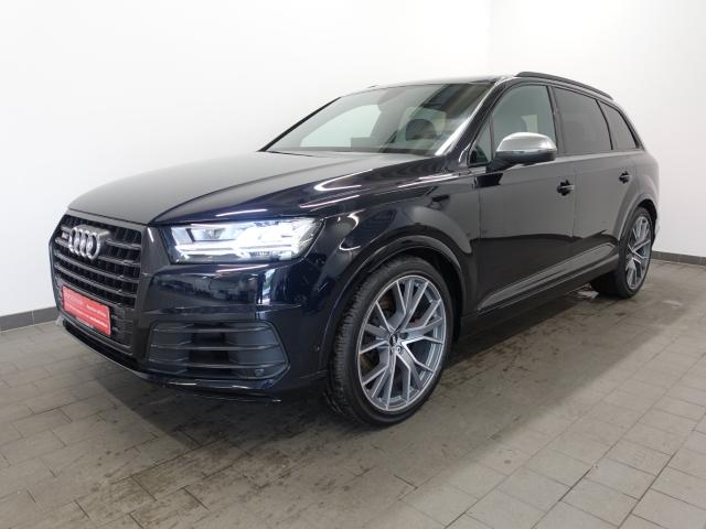Audi SQ7 4.0 TDI LED LUFT KAMERA NAVI 22 GRA CONNECT, Jahr 2017, Diesel