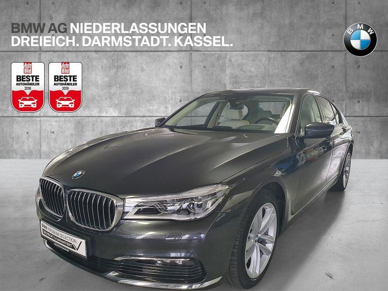 BMW 740d xDrive Limousine Ferngesteuertes Parken, Jahr 2017, Diesel