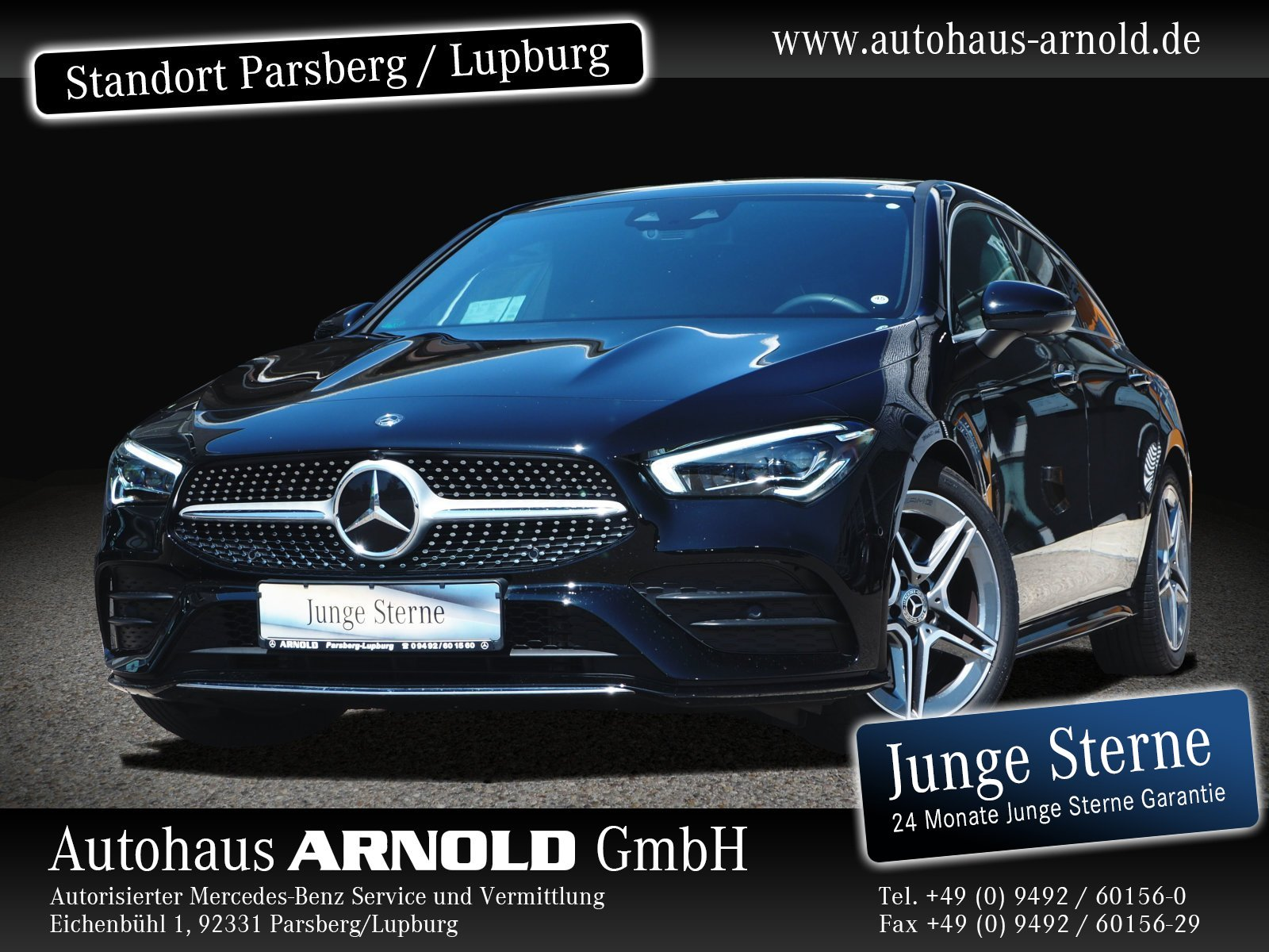 Mercedes-Benz CLA Shooting Brake 4M Shooting Brake AMG Line Distr. Standh, Jahr 2019, Benzin