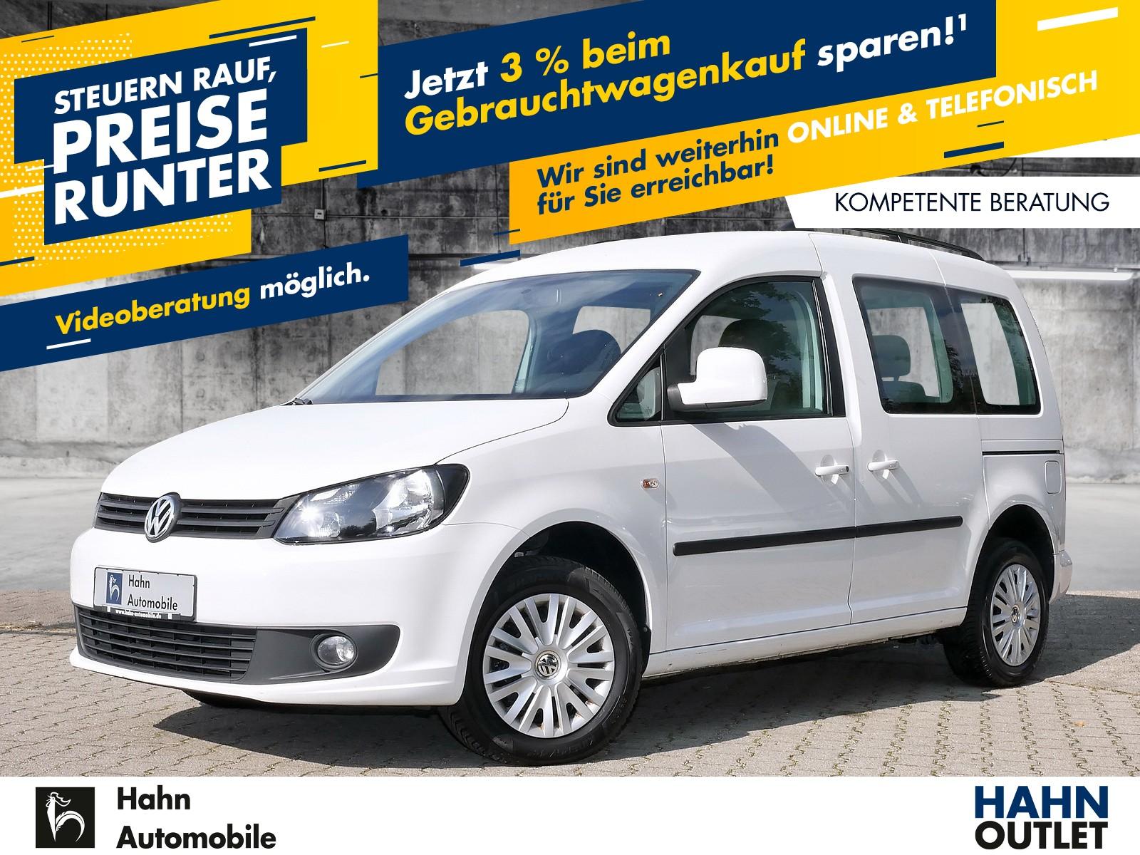 Volkswagen Caddy Kombi 1.6TDI Trendline Climatr Zentralver, Jahr 2015, Diesel