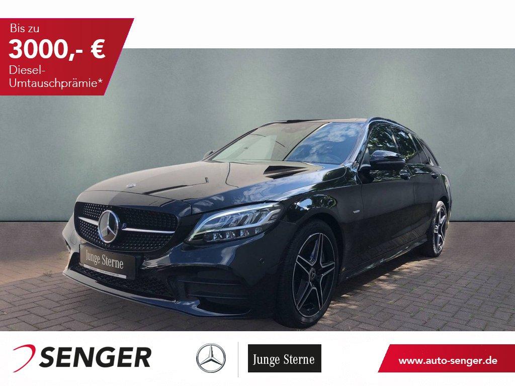 Mercedes-Benz C 220 d T AMG Night Navi AHK Standheizung Kamera, Jahr 2020, Diesel