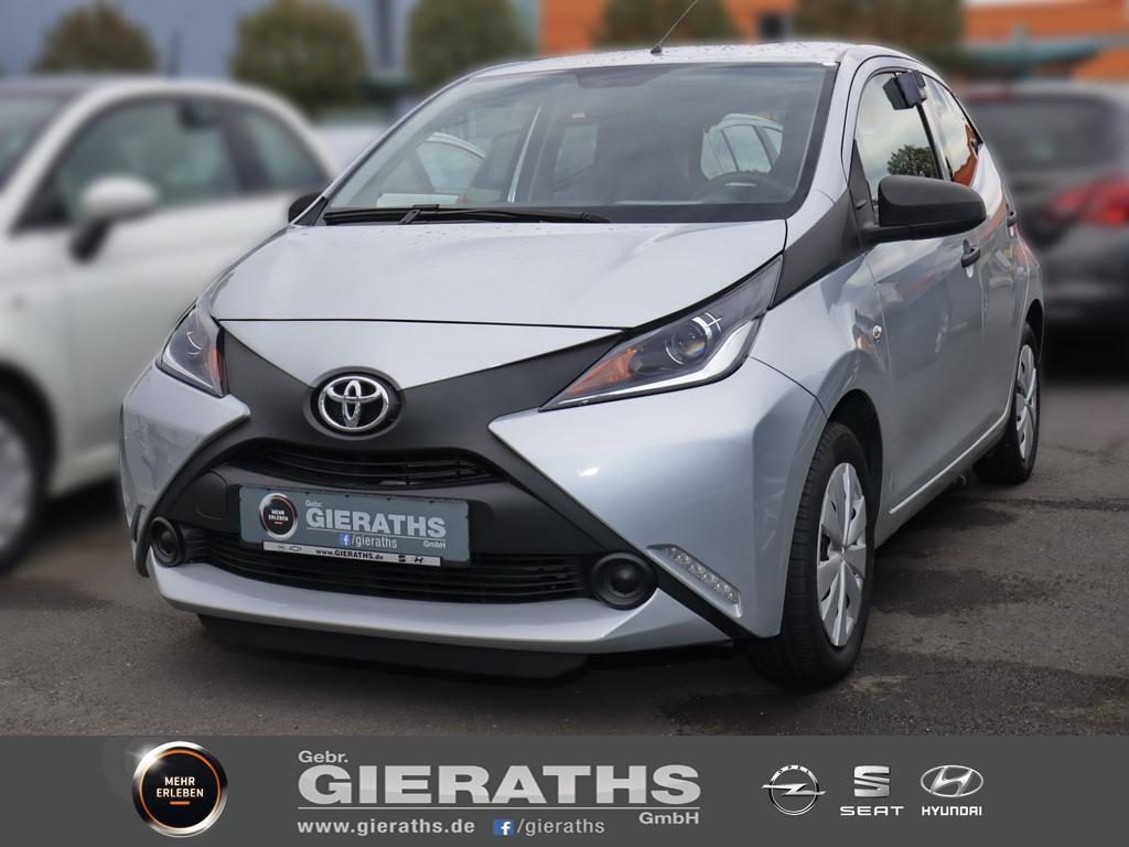 Toyota Aygo 1.0 VVT-i x Klima Radio/USB, Jahr 2016, Benzin