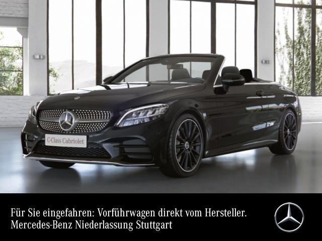 """Mercedes-Benz C 180 Cabrio AMG+LED+Kamera+19""""+Sitzklima+Spur+9G, Jahr 2021, petrol"""