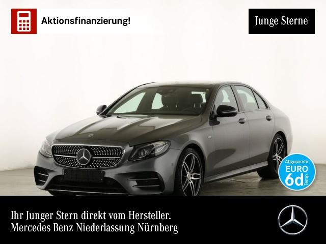 Mercedes-Benz E 53 AMG 4M+ Fahrass.Wide.COMAND.Multi.360°.Air, Jahr 2019, petrol