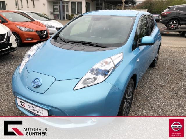 Nissan Leaf Tekna inkl. Batterie, Leder-Navi-LED-Kamera, Jahr 2014, electric