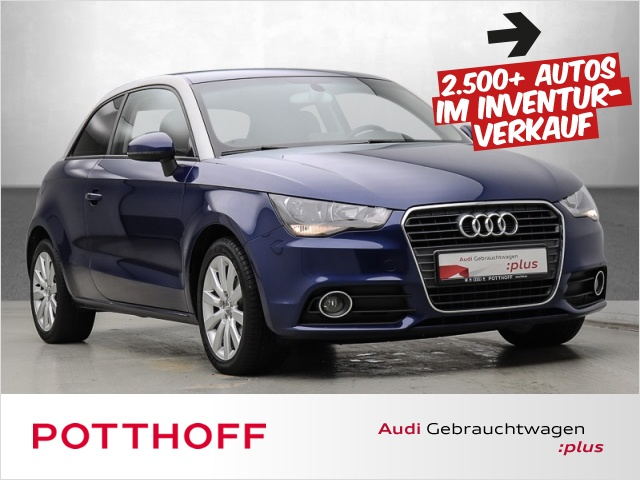 Audi A1 1.2 TFSI Ambition NaviPlus Sitzhzg Bluetooth, Jahr 2013, Benzin