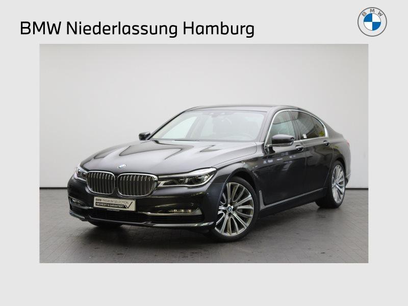 BMW 740d xDrive Limousine Head-Up LED Standhzg. RFK, Jahr 2017, Diesel