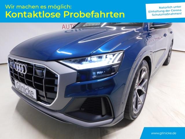 Audi Q8 3.0 TDI quattro S line Matrix LED Pano 22'' B&O Navi, Jahr 2018, Diesel