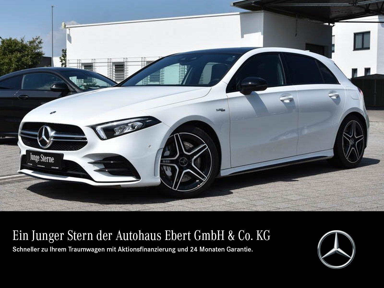 Mercedes-Benz A 35 AMG 4M NAVI PREMIUM+PSD+TOTW+RFK+LED+NIGHT, Jahr 2019, Benzin