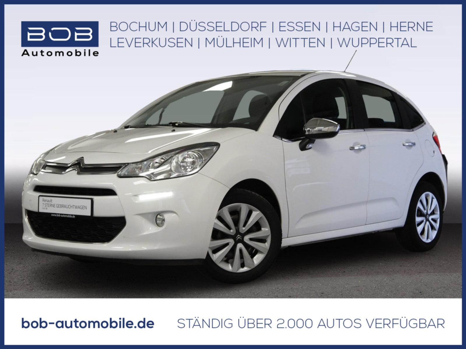 Citroën C3 1.2 VTi/PureTech Selection Klima 1.Hand, Jahr 2014, Benzin