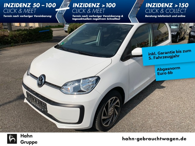 Volkswagen up! sound 1,0 4-Tür Klima Bluetooth Alufelgen ZV, Jahr 2017, Benzin