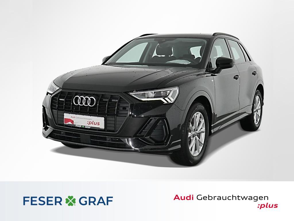 Audi Q3 35TDI q. LED/PDC V+H/Virtual/GRA/18 Zoll, Jahr 2019, Diesel