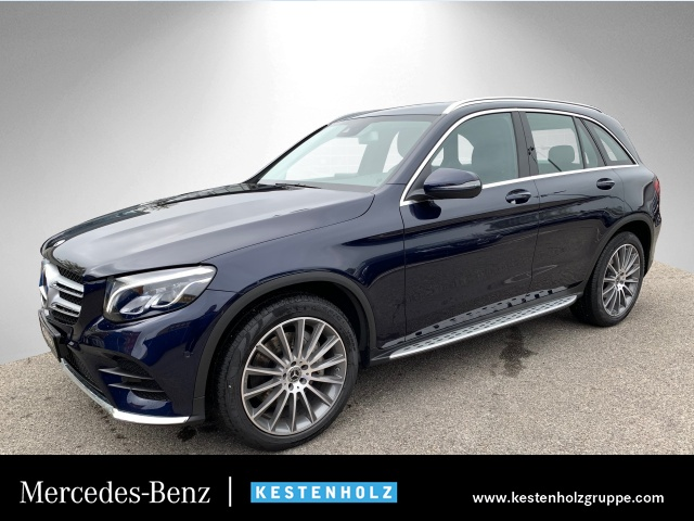 Mercedes-Benz GLC 300 4M AMG Stdhzg COMAND LED Kamera Totwinkel, Jahr 2018, petrol