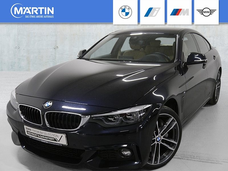 BMW 440i xDrive Gran Coupé M Sportpaket *Head-Up*LED*RFK*Navi.Prof.*, Jahr 2018, Benzin