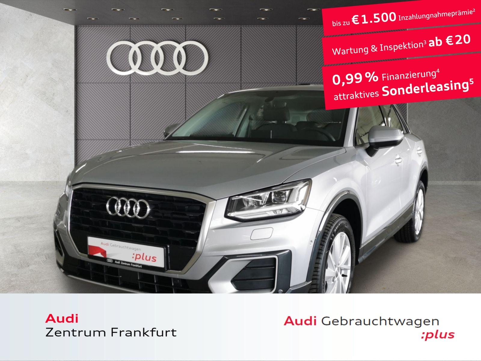 Audi Q2 35 TFSI design S tronic Navi LED DAB Tempomat, Jahr 2020, Benzin