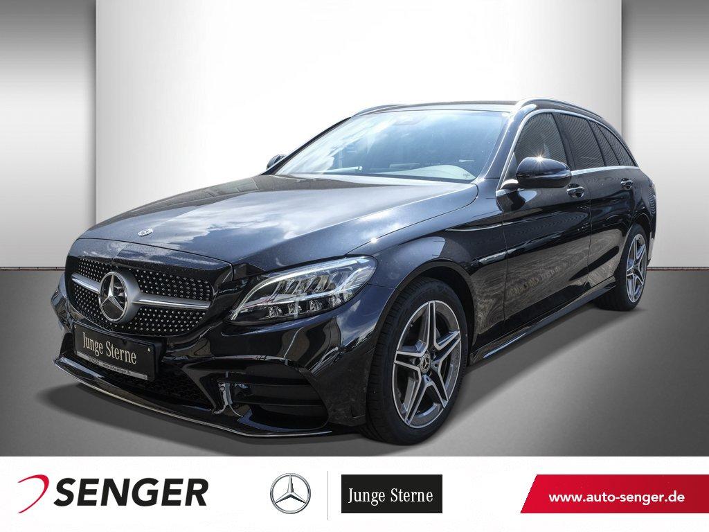 Mercedes-Benz C 200 D T AMG-LINE+AHK+KAMERA+NAVI+STANDHEIZUNG, Jahr 2020, Diesel