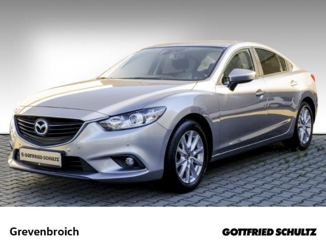 Mazda 6 2.0 SKYACTIV+Klimaautomatik+GRA+Radio CD+EFH+Reg Center-Line, Jahr 2014, Benzin