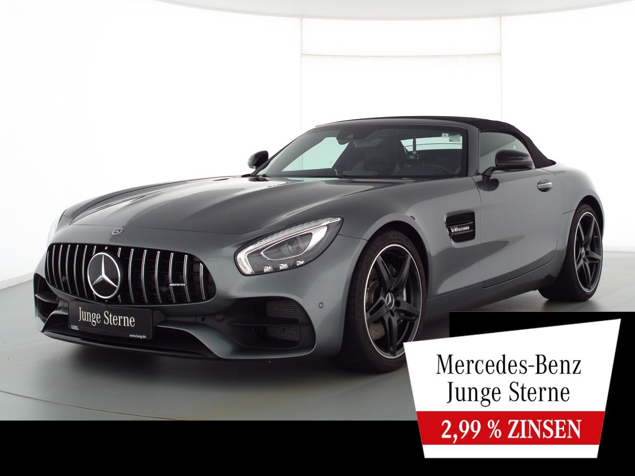 Mercedes-Benz AMG GT Roadster COM+Burm+LED+PAbGas+Mem+KeyG+RFK, Jahr 2018, Benzin