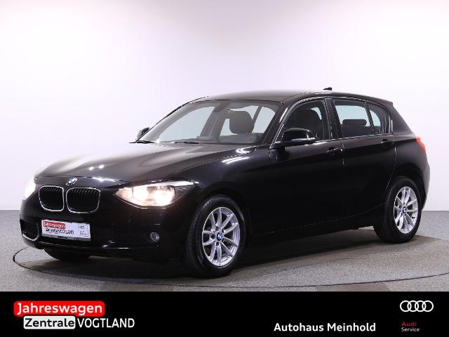 BMW 1er - 114 i PDC,TEL.,ADV.PAK.+,SITZHEIZ., Jahr 2012, petrol