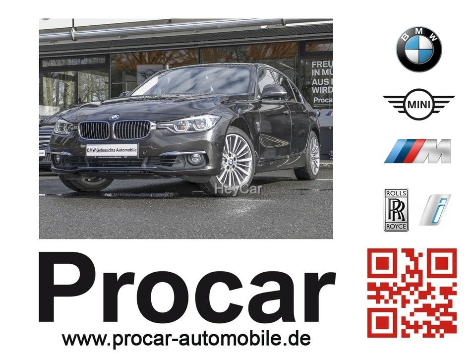 BMW 325d Luxury Line Navi Prof. Aut. BluePerformance, Jahr 2016, Diesel