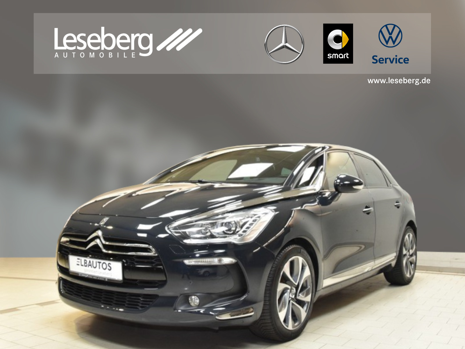 """Citroën DS5 2.0 HDi FAP 165 Business Automatik/LM18""""/PTS, Jahr 2013, diesel"""