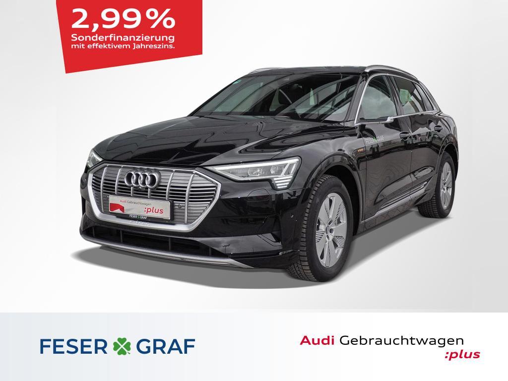 Audi e-tron advanced 55 Virt. Spiegel/Pano/Nachtsicht, Jahr 2020, Elektro