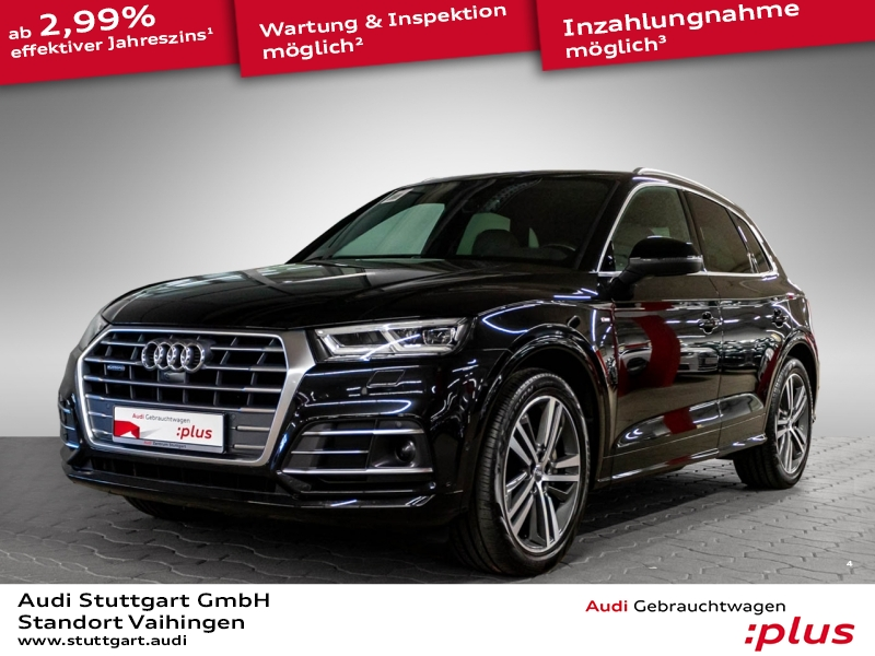 Audi Q5 2.0 TDI quattro S line AHK ACC AIR Pano 20'', Jahr 2017, Diesel