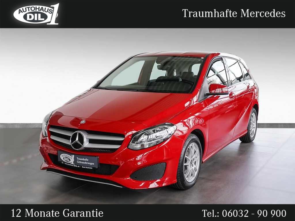 Mercedes-Benz B 180 d *1.Hand*Scheckheft*MwSt.*, Jahr 2016, Diesel