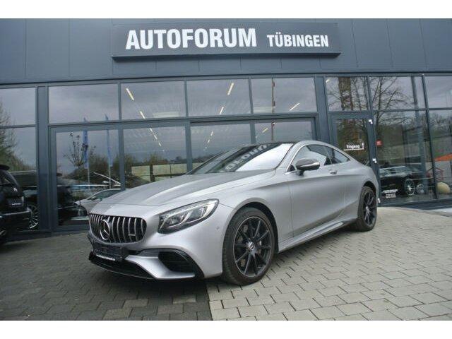 Mercedes-Benz S 63 4M+ AMG Coupe *DESIGNO*UPE 223000 EURO*, Jahr 2017, Benzin