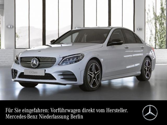 Mercedes-Benz C 180 AMG+Night+LED+Kamera+Spur+Totw+Keyless+9G, Jahr 2021, Benzin