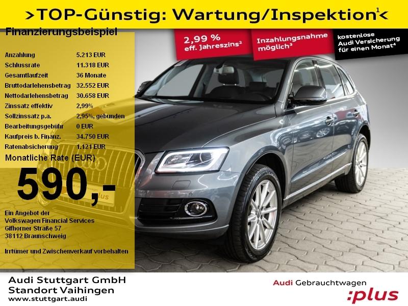 Audi Q5 2.0 TDI quattro Leder Navi Xenon Pano Kamera, Jahr 2018, Diesel