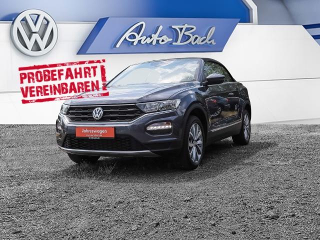 Volkswagen T-Roc Cabriolet 1.0 TSI OPF Style Climatronic Sitzheizung ACC EPH, Jahr 2020, Benzin