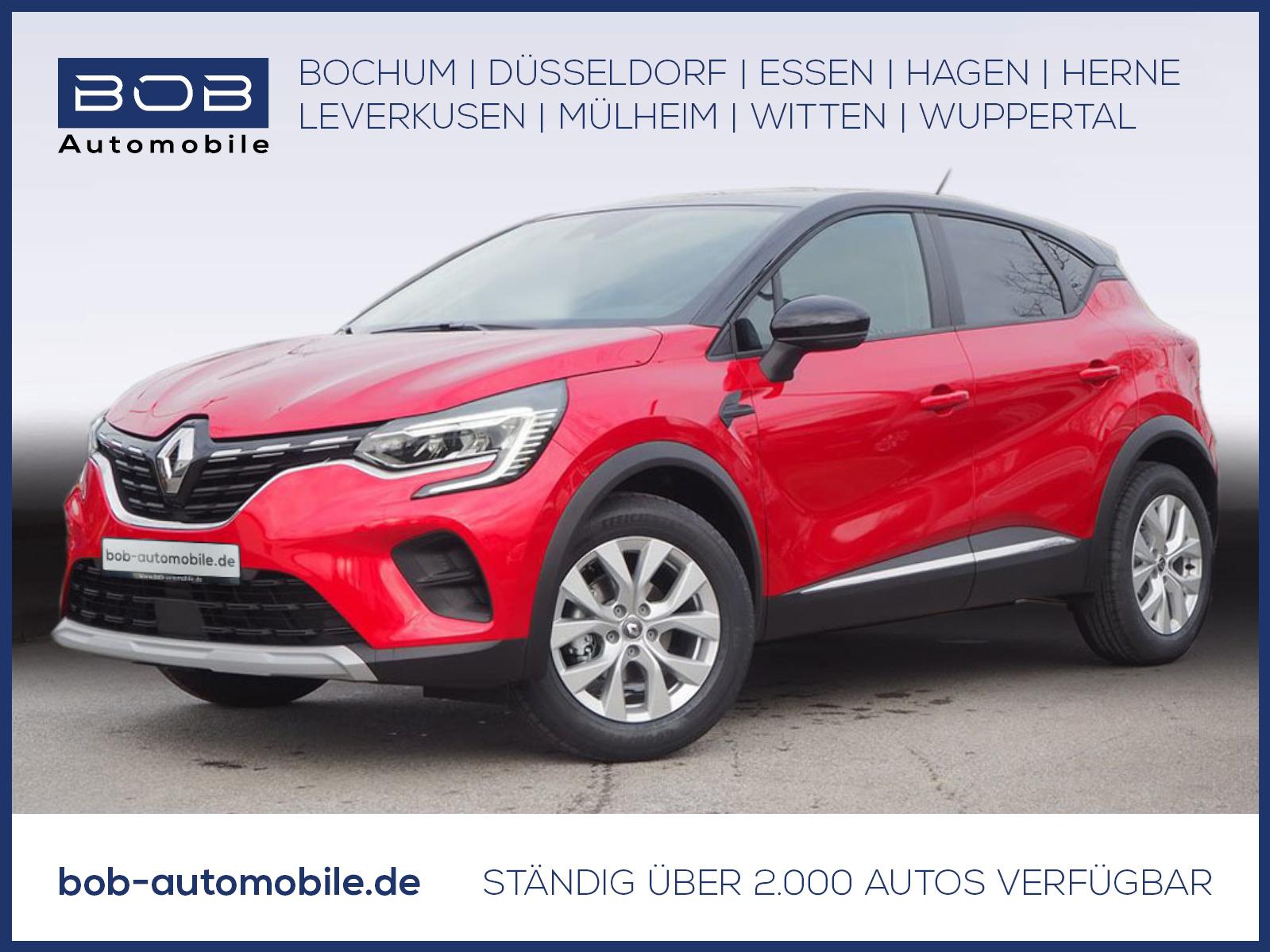 Renault Captur EXPERIENCE Deluxe TCe 90 NAVI SHZ PDC, Jahr 2021, Benzin