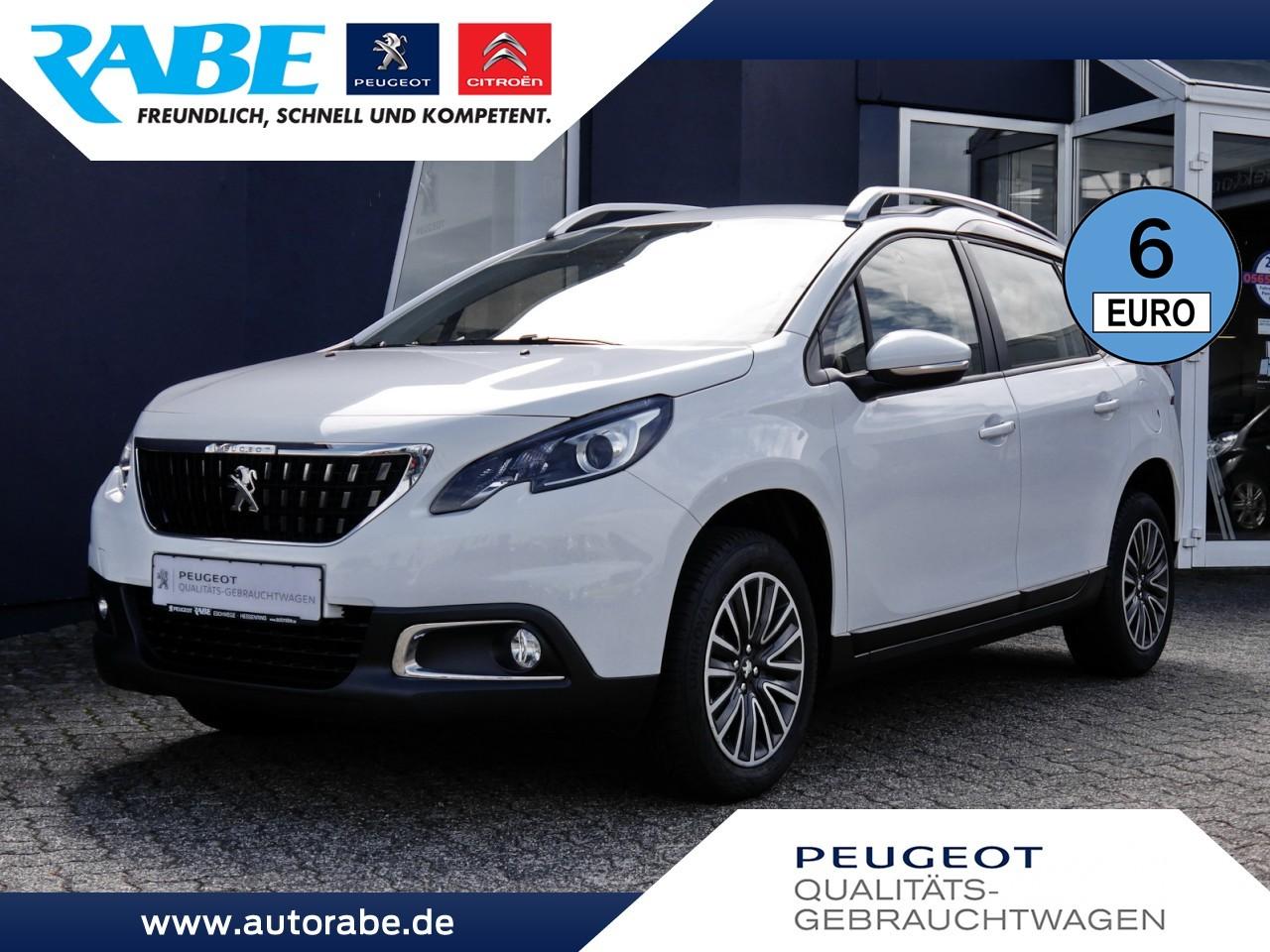 Peugeot 2008 Active 82 PT NAV+Tempomat+Klima+Connect-Box, Jahr 2018, Benzin