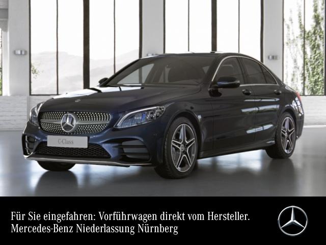 Mercedes-Benz C 200 AMG+AHK+MultiBeam+Kamera+Spur+Totw+Keyless, Jahr 2021, Benzin