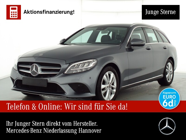 Mercedes-Benz C 180 T Avantgarde LED AHK Kamera PTS Easy-Pack 9G, Jahr 2019, Benzin