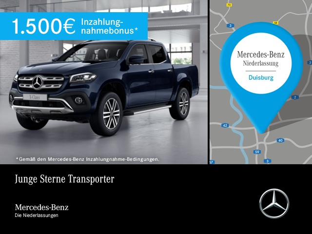 Mercedes-Benz X 250 d 4M 360° COMAND LED Kamera Spurhalt-Ass, Jahr 2019, Diesel