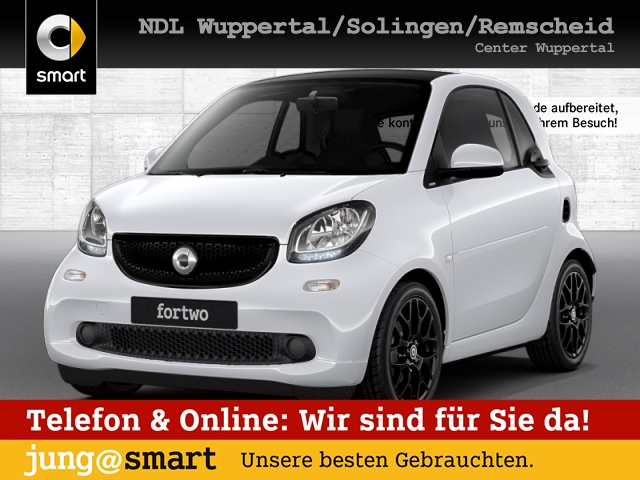 smart fortwo coupé 66kW passion BRABUS DCT cool&Audio, Jahr 2017, Benzin