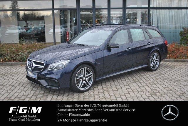 "Mercedes-Benz E 63 4M AMG COM/ILS/Dist/360/Night/SpurP/H&K/19"", Jahr 2015, petrol"