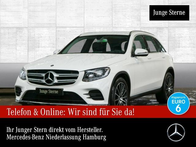 Mercedes-Benz GLC 350 d 4M AMG AHK Navi PTS 9G Sitzh Sitzkomfort, Jahr 2017, Diesel