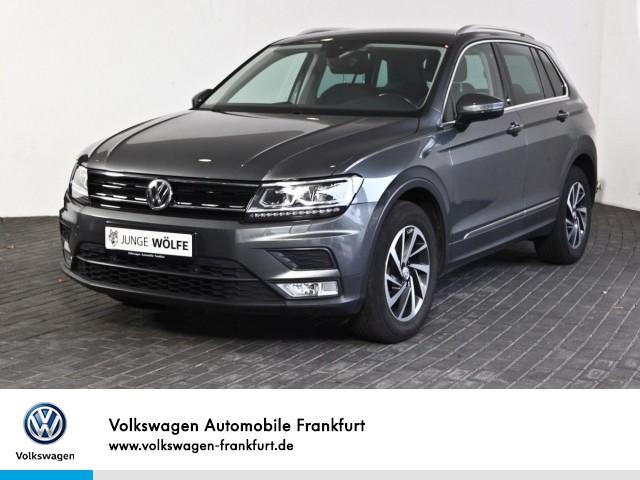 Volkswagen Tiguan 1.4 TSI DSG Sound Navi Klima LED-Scheinwerfer Tiguan 1.4actCLBMTFR 110TSID6F, Jahr 2017, Benzin