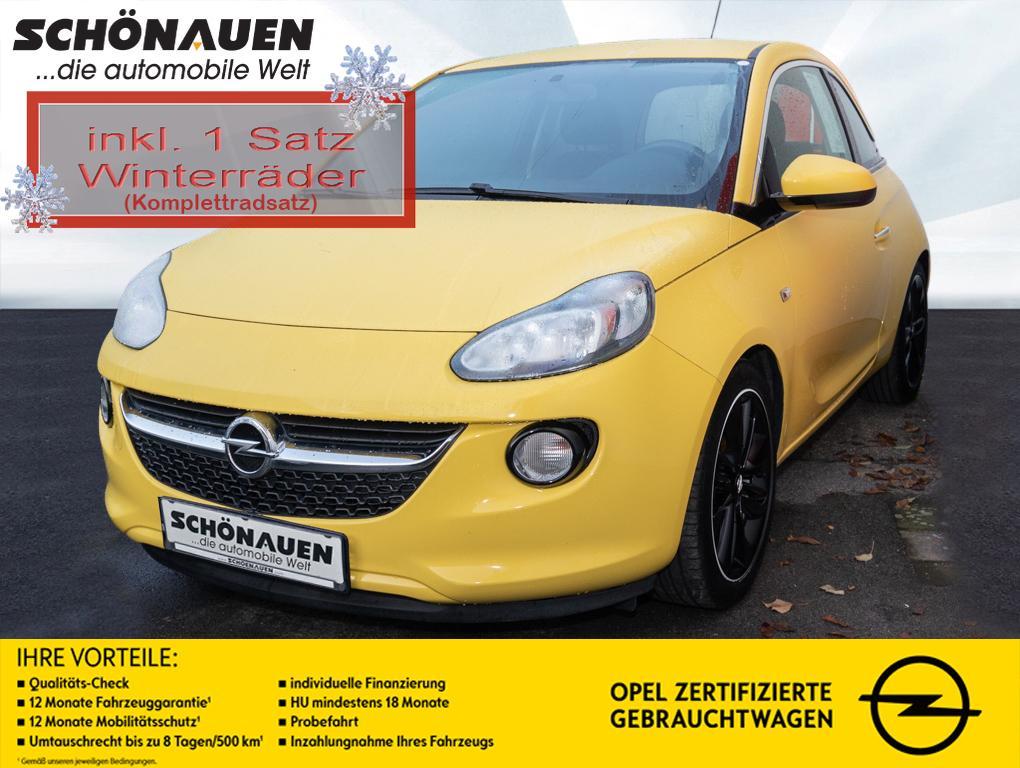 Opel Adam 1.4 JAM+S/LHZ+GRA+KLIMA+RADIO+BT+17LM++, Jahr 2014, Benzin