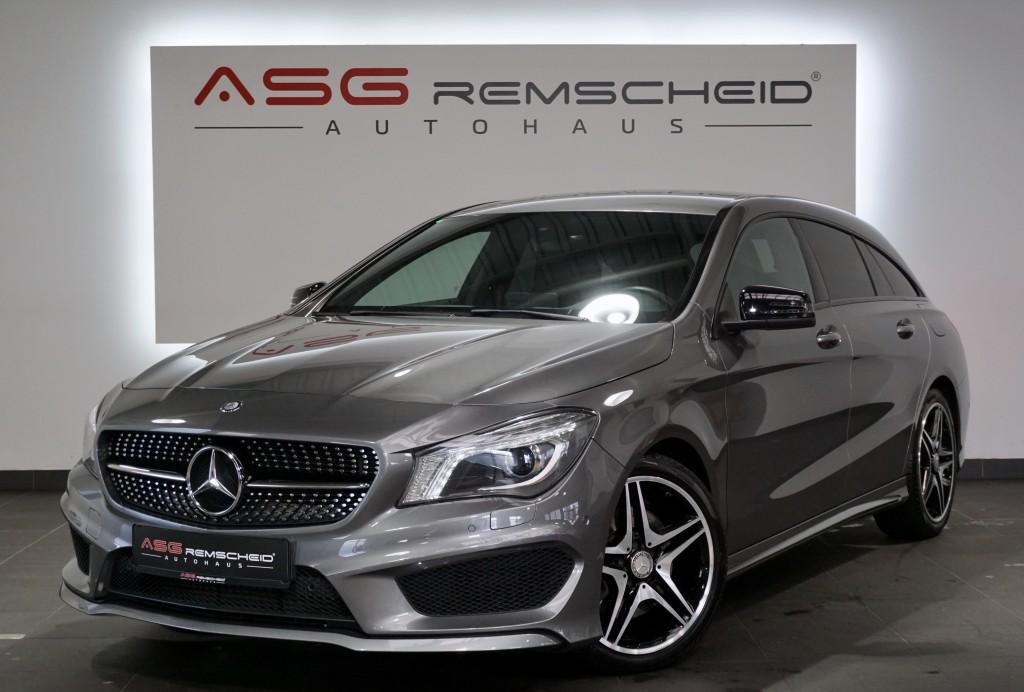 Mercedes-Benz CLA 250 Shooting Brake 7G-Tr. AMG Line*2.H*Night, Jahr 2015, Benzin