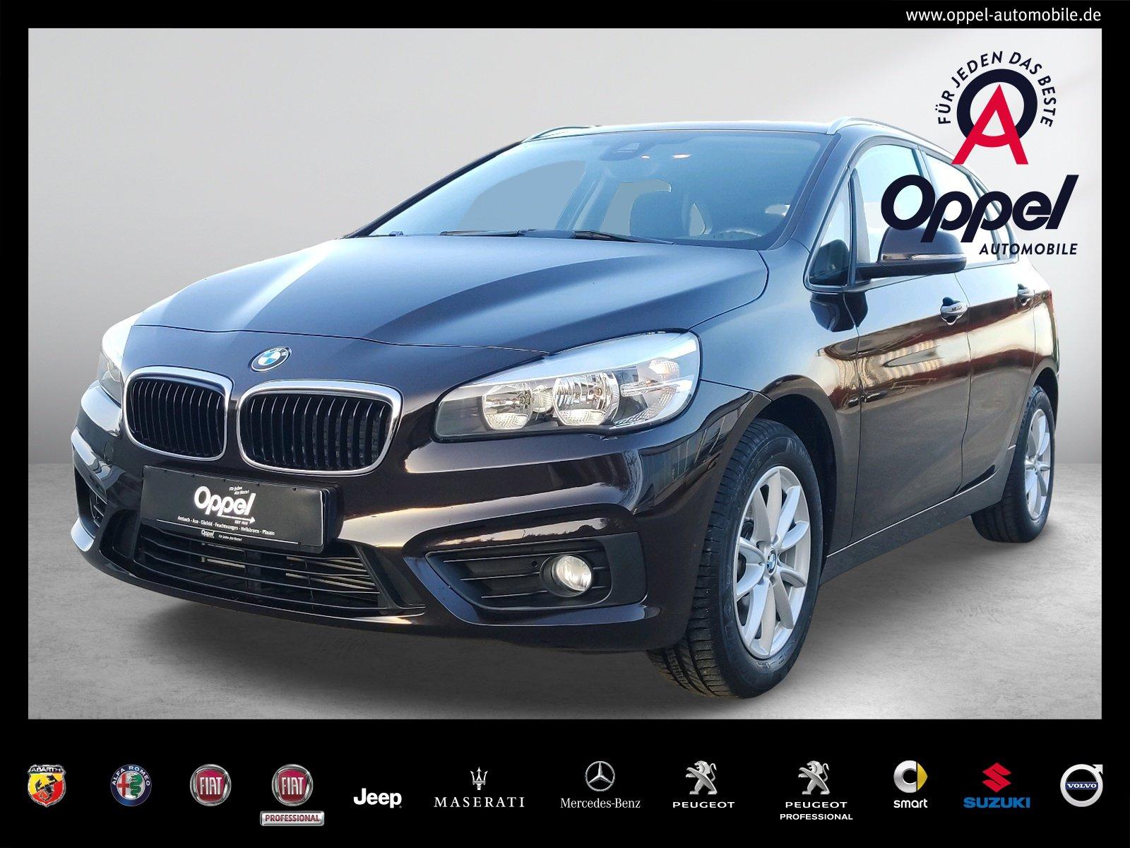 BMW 218i Active Tourer PDC+TEMPOMAT+SITZH.+KLIMAAUT., Jahr 2015, Benzin
