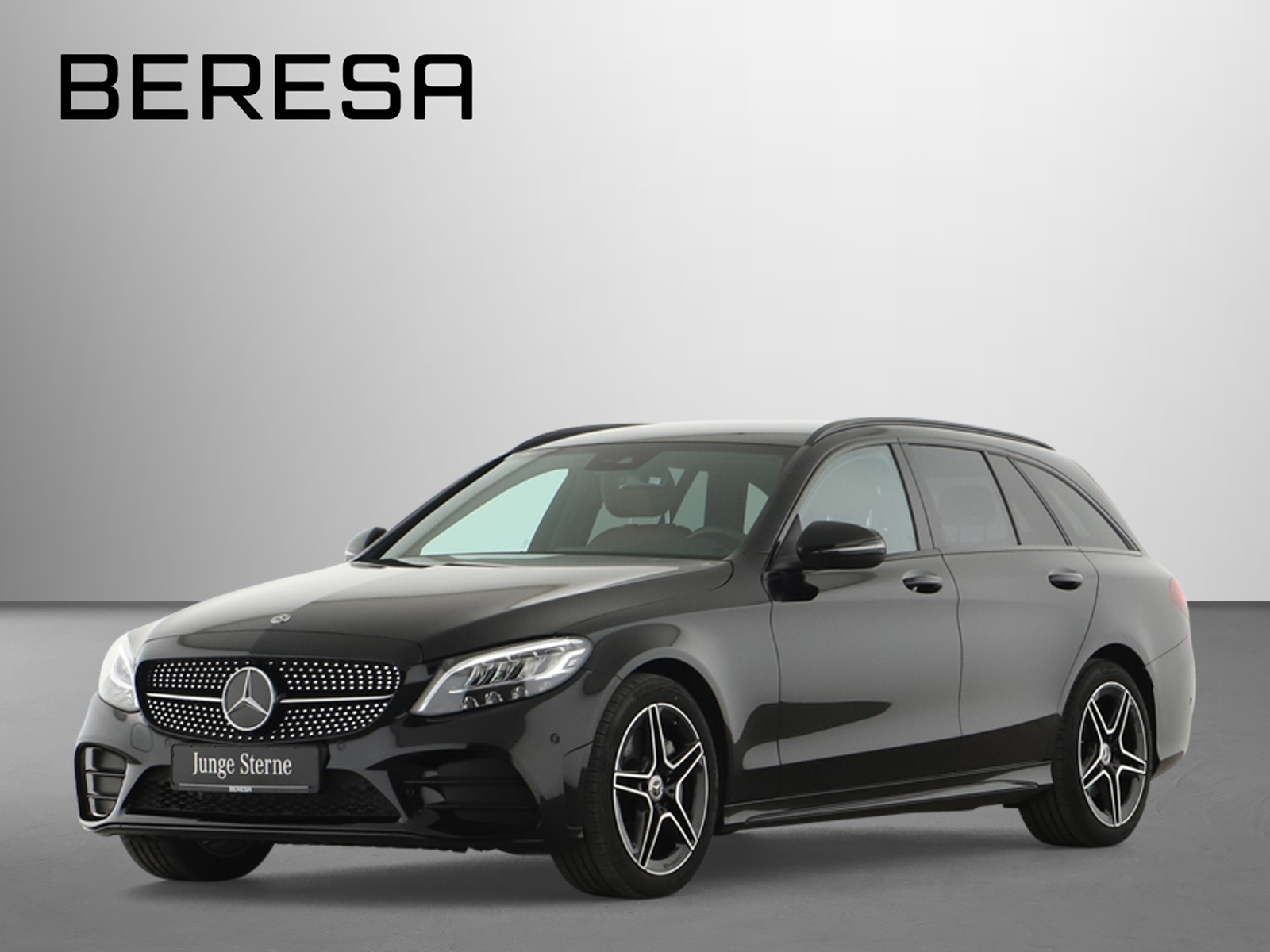 Mercedes-Benz C 300 T AMG Spur-P. Night LED Kamera Navi PDC, Jahr 2020, Benzin