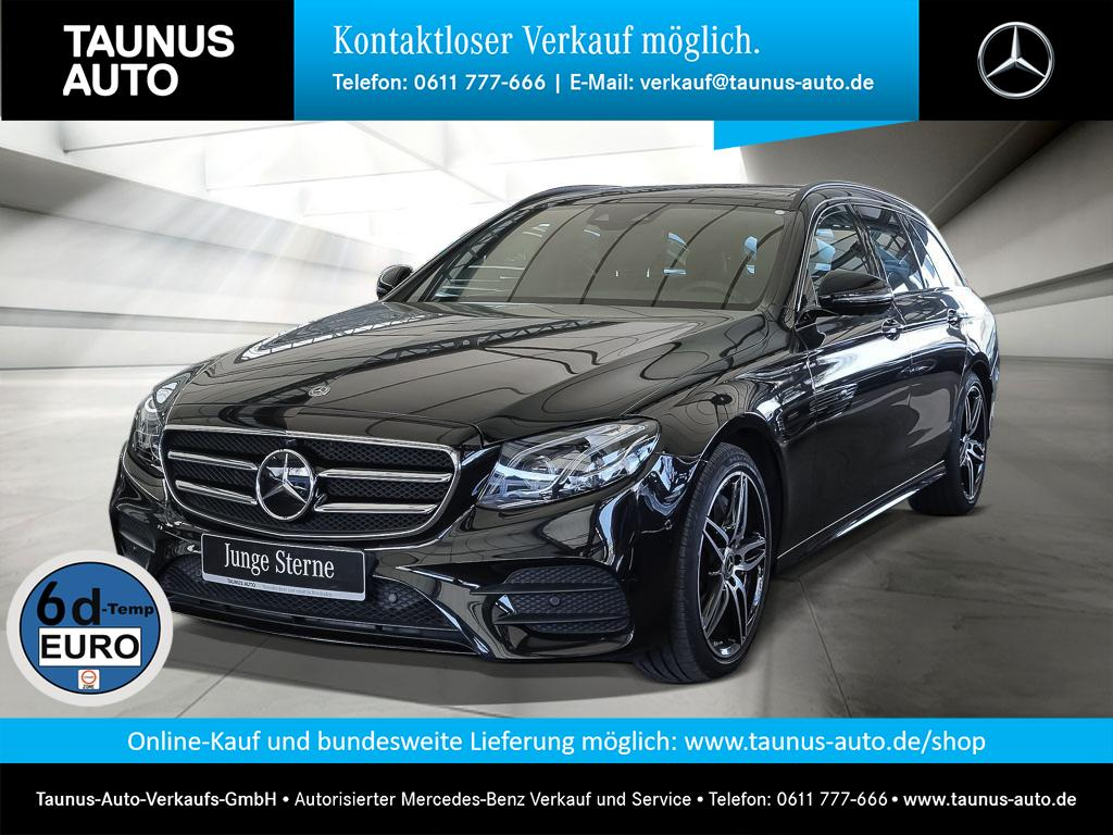 Mercedes-Benz E 450 T 4M AMG-LINE COMAND PANO WIDE NIGHT, Jahr 2019, Benzin