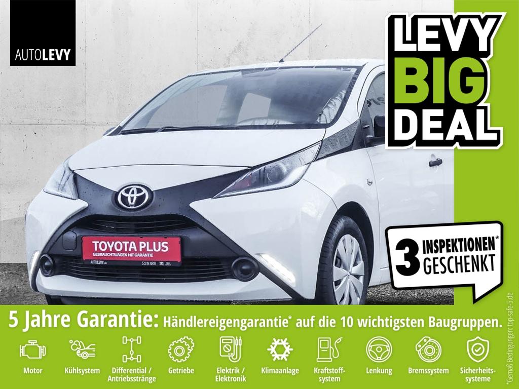 Toyota Aygo 1.0l x 5-Türer *USB*AUX*Bluetooth*, Jahr 2016, petrol